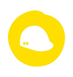 helmet design vector image vector image