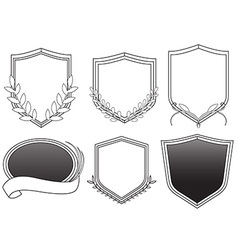 Hip badges vector