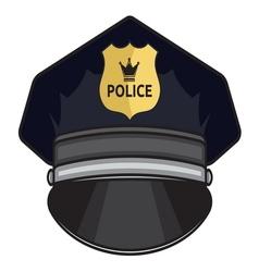 Police cap1 vector
