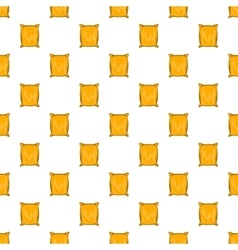 Square packing pattern cartoon style vector