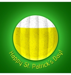 Happy st patricks day poster vector
