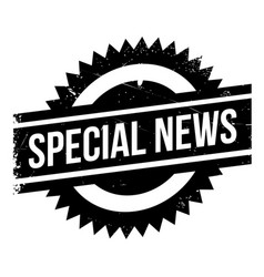 Special news rubber stamp vector