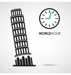 World hour vector