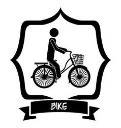 Bike lifestyle vector