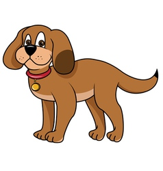 dog puppy vector image vector image