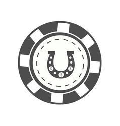 Gambling chip vector
