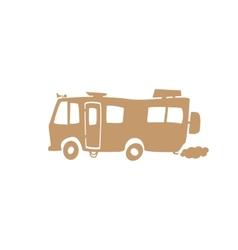 recreational vehicle vector image vector image