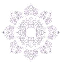 Chakra Sahasrara vector image