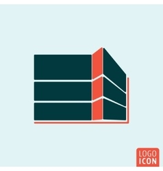 Building construction icon vector image