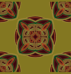 Colourful ethnic seamless pattern background in vector