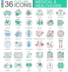 medical healthcare medicine modern color vector image vector image
