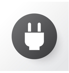 Plug icon symbol premium quality isolated socket vector