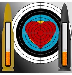cigarettes target vector image