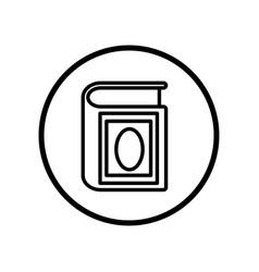 islamic icon quran icon- iconic design vector image vector image