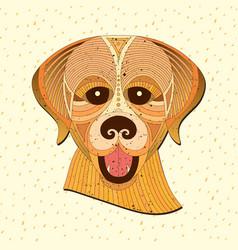 Geometric animal vector