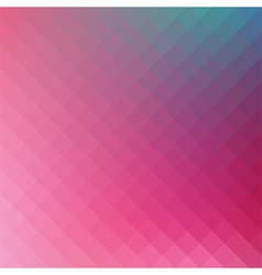 Pink geometric background vector
