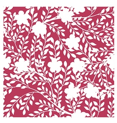 Abstract Elegance seamless floral pattern backgrou vector image