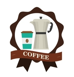 Coffee icon design vector