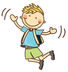 Cute Cartoon Children vector image vector image