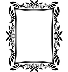 frame rectangular vector image vector image