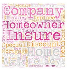 Homeowners Insurance Company How To Choose One vector image vector image