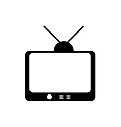 tv entertainment symbol vector image