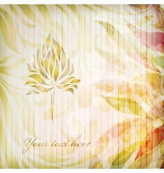 Vintage floral beautiful background vector image