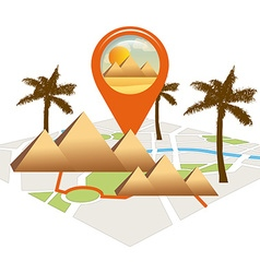 Gps tech design vector