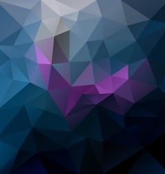 Dark blue purple violet colored polygon triangular vector
