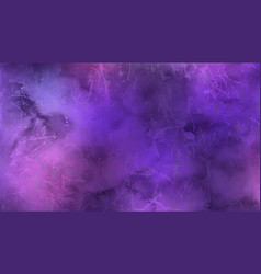 Watercolor pink and violet marble background vector