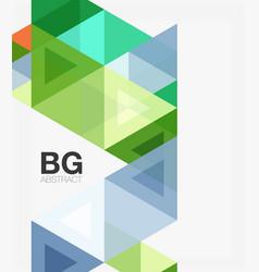 modern geometry background vector image