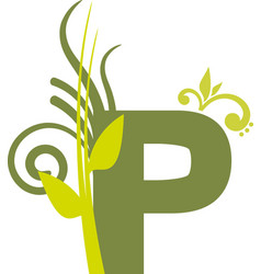 nature p vector image