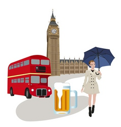 england graphics vector image