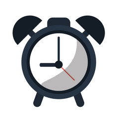 Clock time watch alarm vector