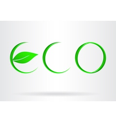 Eco icon 003 vector