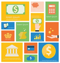 Icon Finance Banking vector image vector image