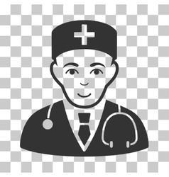 Physician icon vector