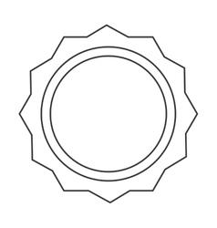Seal stamp label design vector