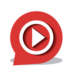 Button icon live streaming design graphic vector