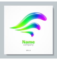 Abstract Logo Element Design Template vector image