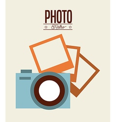 Photo isolated icon design vector