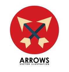 Arrows icon vector