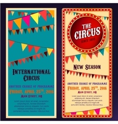 Circus banners 04 b vector