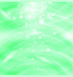 green burst blurred background sparkling texture vector image