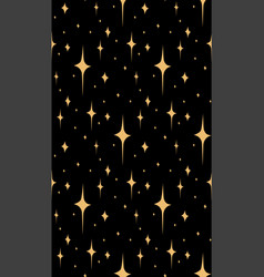 seamless pattern with doodle stars for your vector image