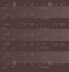 Coffee wallpaper chocolate vector