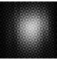 creative triangle pattern background vector image vector image