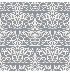 Seamless pattern laser cut template vector