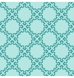 Turquiose seamless pattern vector