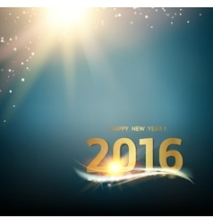 Happy new year card vector
